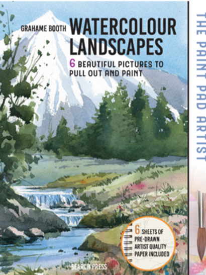 The Paint Pad Artist: Watercolour Landscapes by Grahame Booth