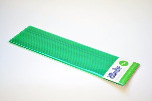3D Doodler PLA Plastic Strands - Clearly Green