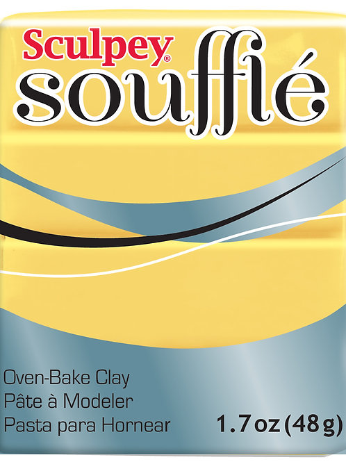 Sculpey Soufflé 48gm - Canary