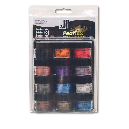 Jacquard Pearl Ex Pigments - 12 Colour Set Three