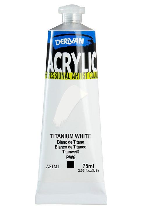 Derivan Acrylic - Titanium White