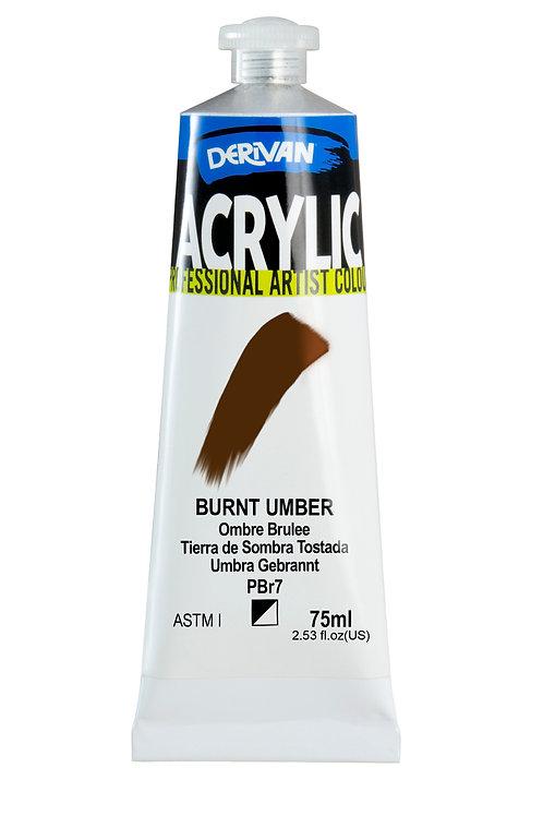 Derivan Acrylic - Burnt Umber