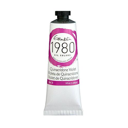 Gamblin 1980 Oil Colour - Quinacridone Violet