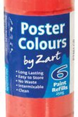 PT881-CR CS Poster Colours - Single Colour Refill - Crimson