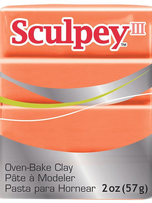 Sculpey III 57gm - Just Orange