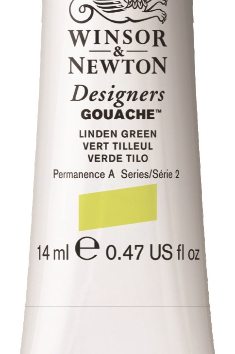 369 W&N Designers' Gouache 14ml - Linden Green