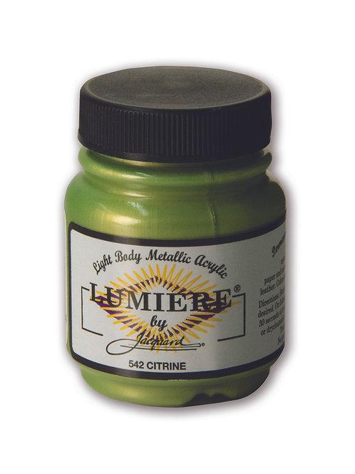 Jacquard Lumiere - Citrine