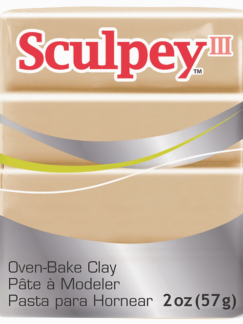 Sculpey III 57gm - Tan