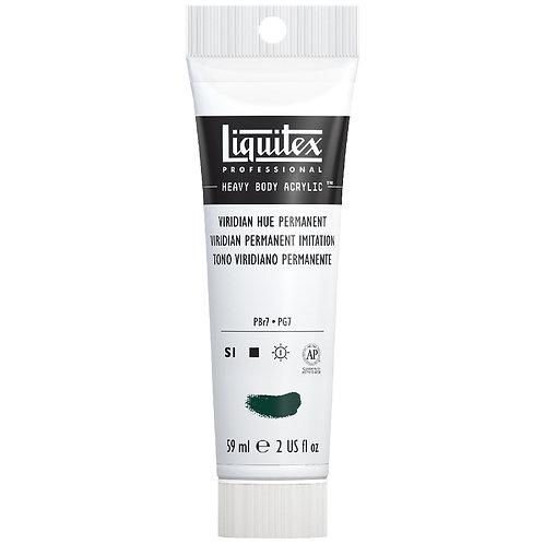 LQ398 Liquitex Heavy Body Acrylic - Viridian Hue Permanent