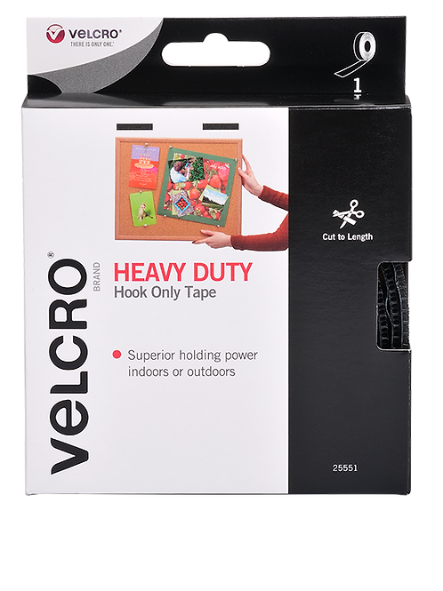 VELCRO® Brand hook-and-loop fastener Heavy Duty Hook Only Tape
