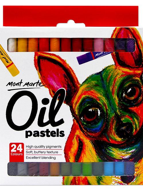 MMPT0014 MM Oil Pastels 24pc