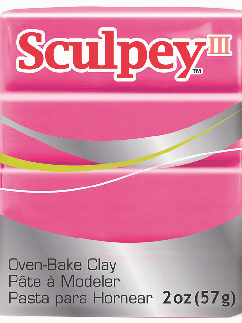 Sculpey III 57gm - Candy Pink