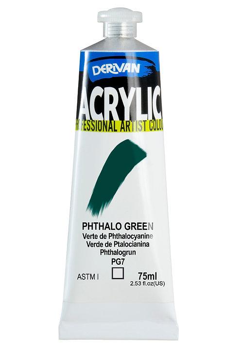 Derivan Acrylic - Phthalo Green