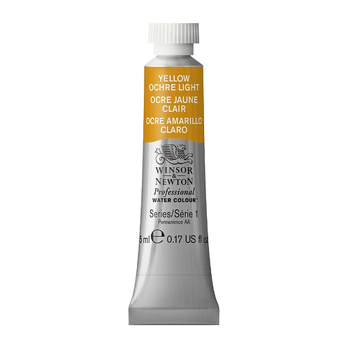 745 W&N Professional Water Colour - Yellow Ochre (Light)