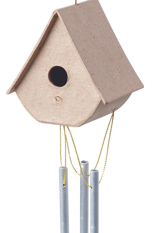 BW818 Papier Mache Bird House