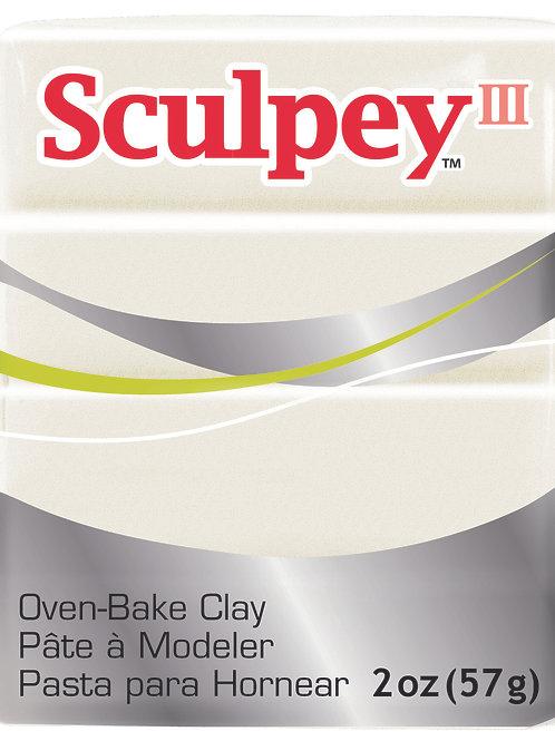 Sculpey III 57gm - Pearl