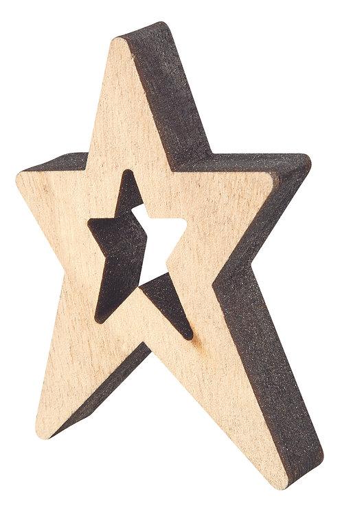 CN523 Wooden Stars
