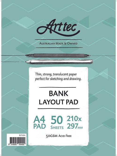 Art tec Bank Layout Pads