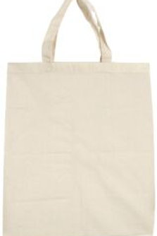 MT085 Calico Bags with Handles