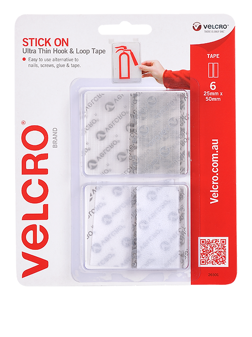 VELCRO® Brand hook-and-loop fastener General Purpose Stick On Ultra Thin Tape