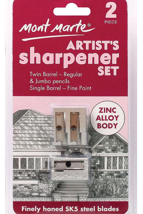 MAXX0018 MM Artists Sharpener Set Zinc Alloy 2pc