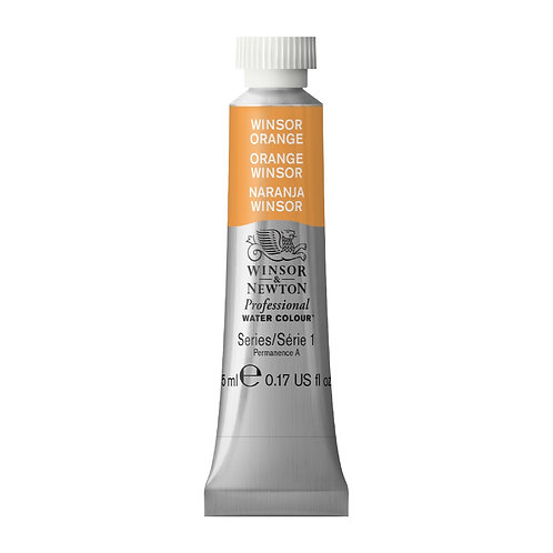 724 W&N Professional Water Colour - Winsor Orange
