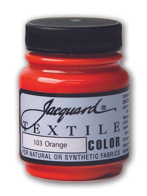 Jacquard Textile Colour - Orange