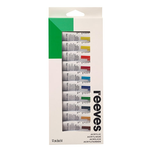 8394209 Reeves Paint Set Acrylic (12)