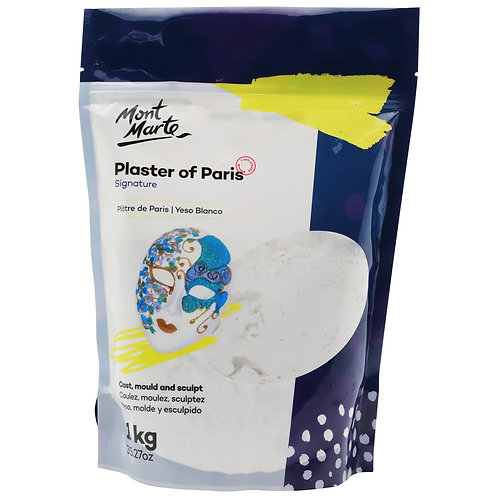 MMSP0022 MM Plaster of Paris 1Kg