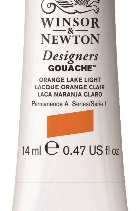 453 W&N Designers' Gouache 14ml - Orange Lake Light