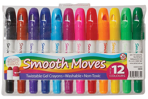 Smooth Moves Twistable Crayons