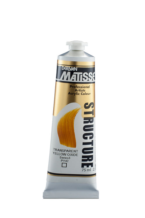 Matisse Structure Formula Transparent Yellow Oxide