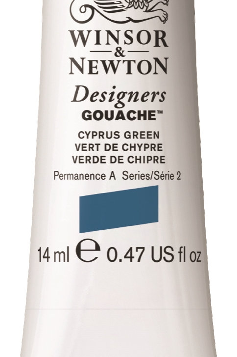 211 W&N Designers' Gouache 14ml - Cyprus Green