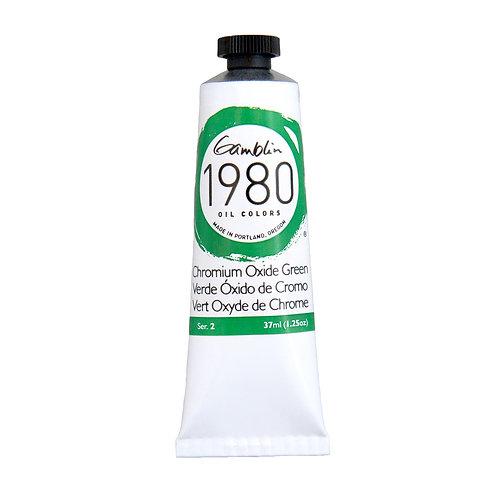 Gamblin 1980 Oil Colour - Chromium Oxide Green