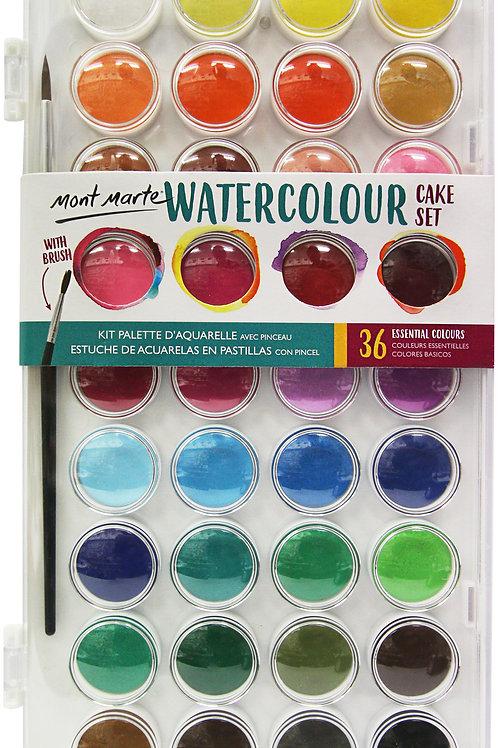 PMHS0038 MM Watercolour Cake Set 37pc