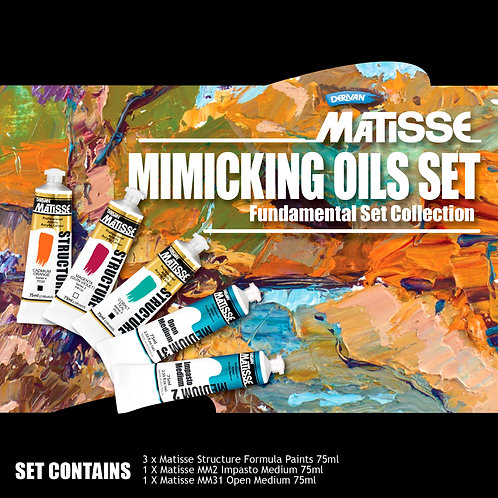 Matisse Structure Mimicking Oils Fundamental Set