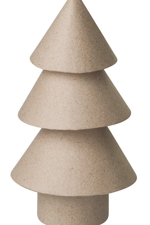 Papier Mache Christmas Trees