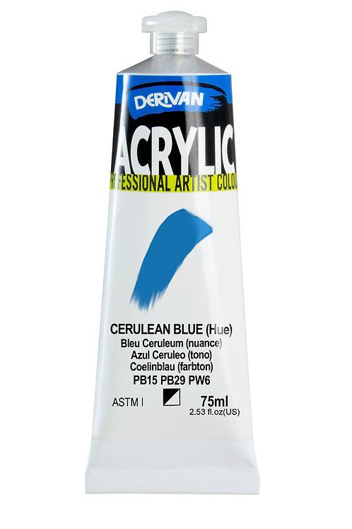Derivan Acrylic - Cerulean Blue (Hue)