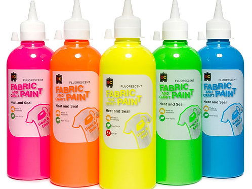 CPF500  500ml Fluorescent Fabric and Craft Paint