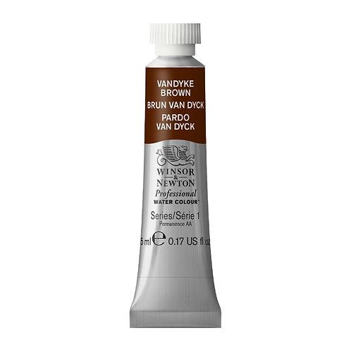 676 W&N Professional Water Colour - Vandyke Brown