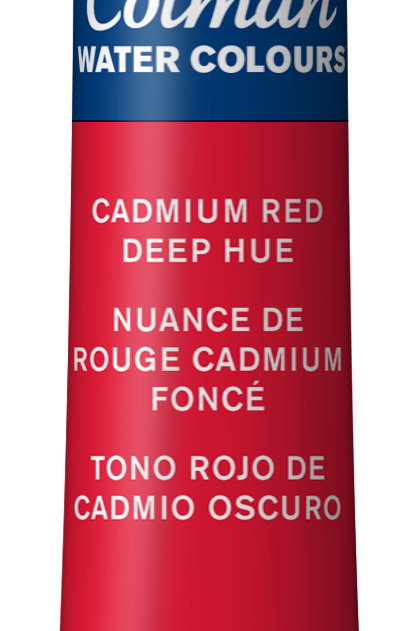 098 W&N Cotman Water Colour - Cadmium Red Deep Hue