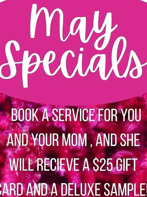 May Special - Mothers Day Gift Card 25.00