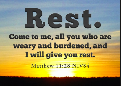 True Rest and Refreshment