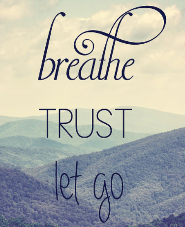 Be Still and Trust