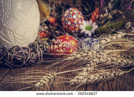 IT'S EASTER... BRING ON THE AMBER WAVES OF GRAIN!!