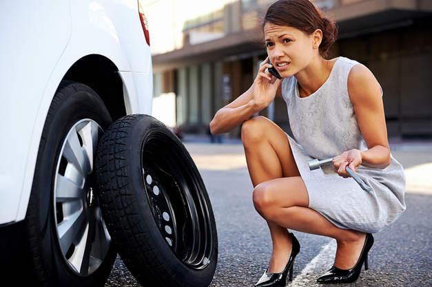 Tire change, Flat Tire Service in Pleasant Hill CA, Walnut Creek CA.