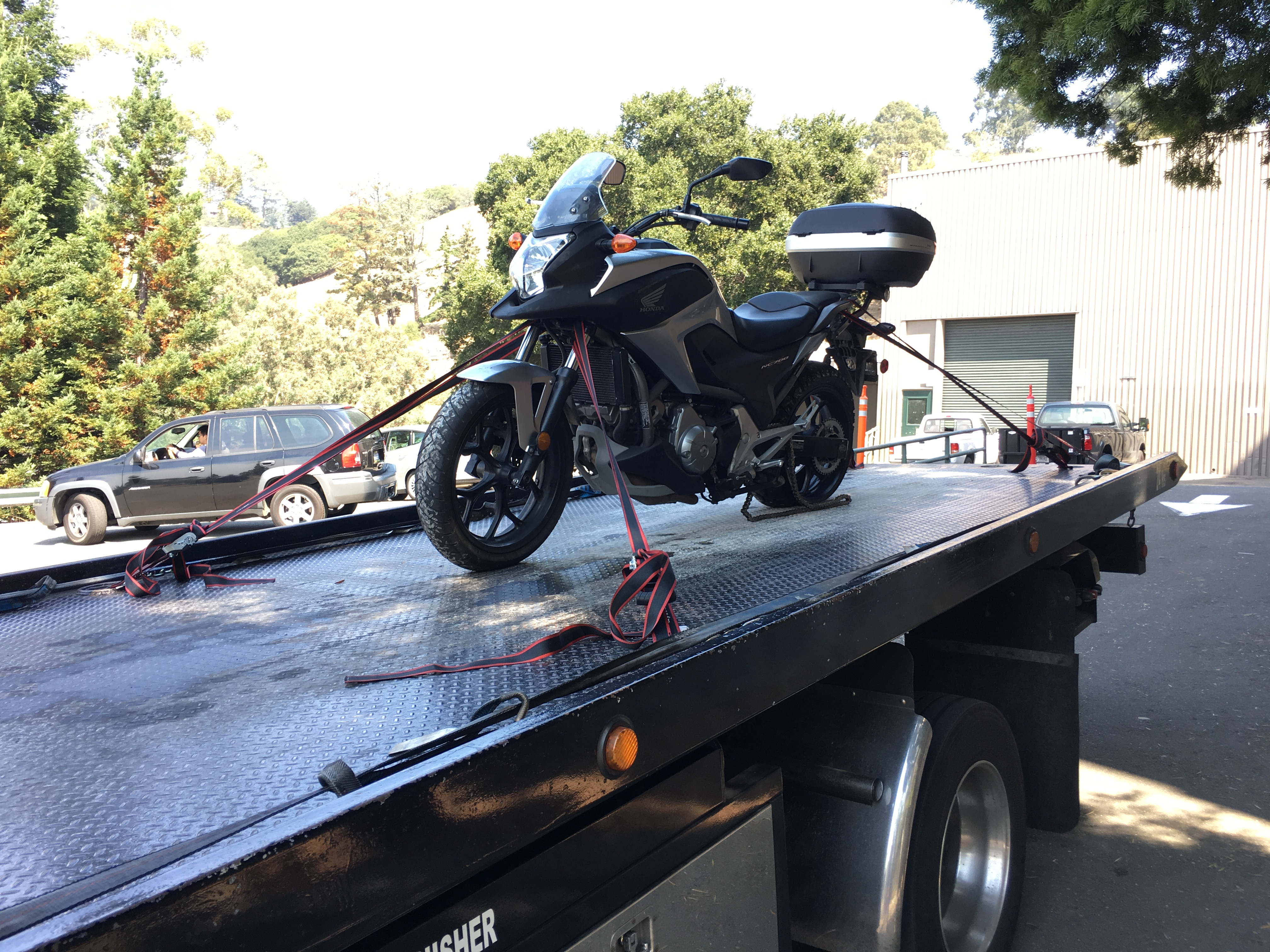 Motorcycle towing Martinez CA