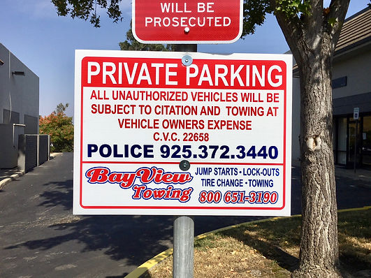 Private Parking Towing Martinez CA