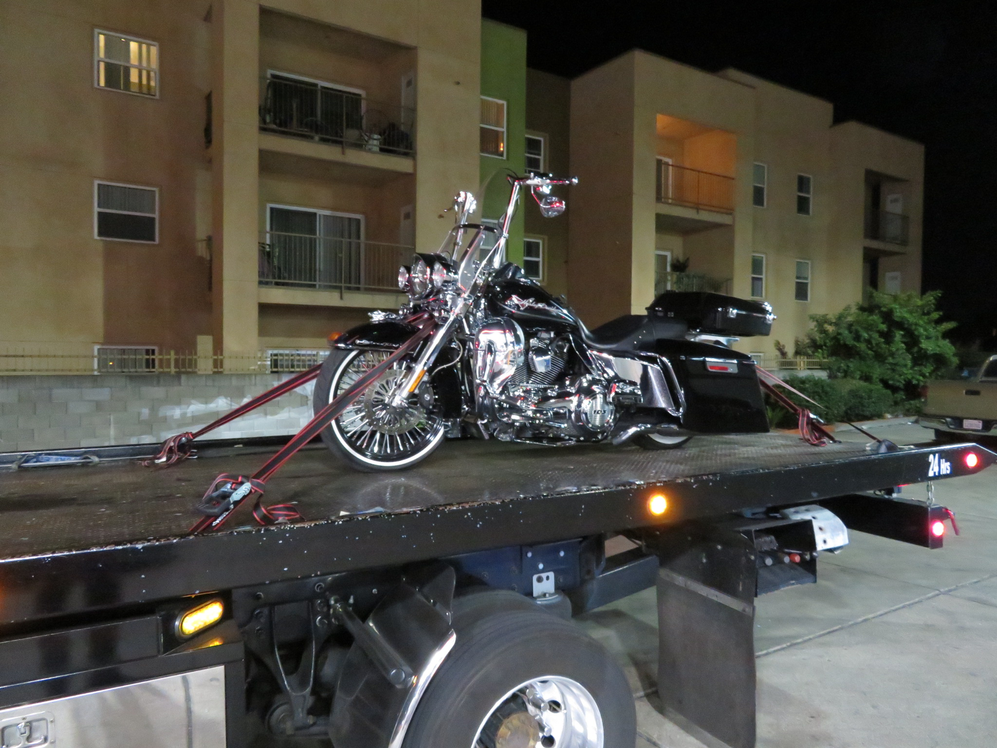 emergency Motorcycle towing Martinez