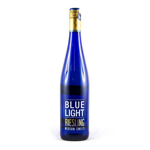 Blue Light Medium Sweet Riesling 75cl